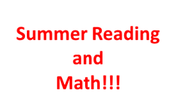 Summer Reading and Math